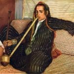Émile Bernard, La fumeuse de Haschisch