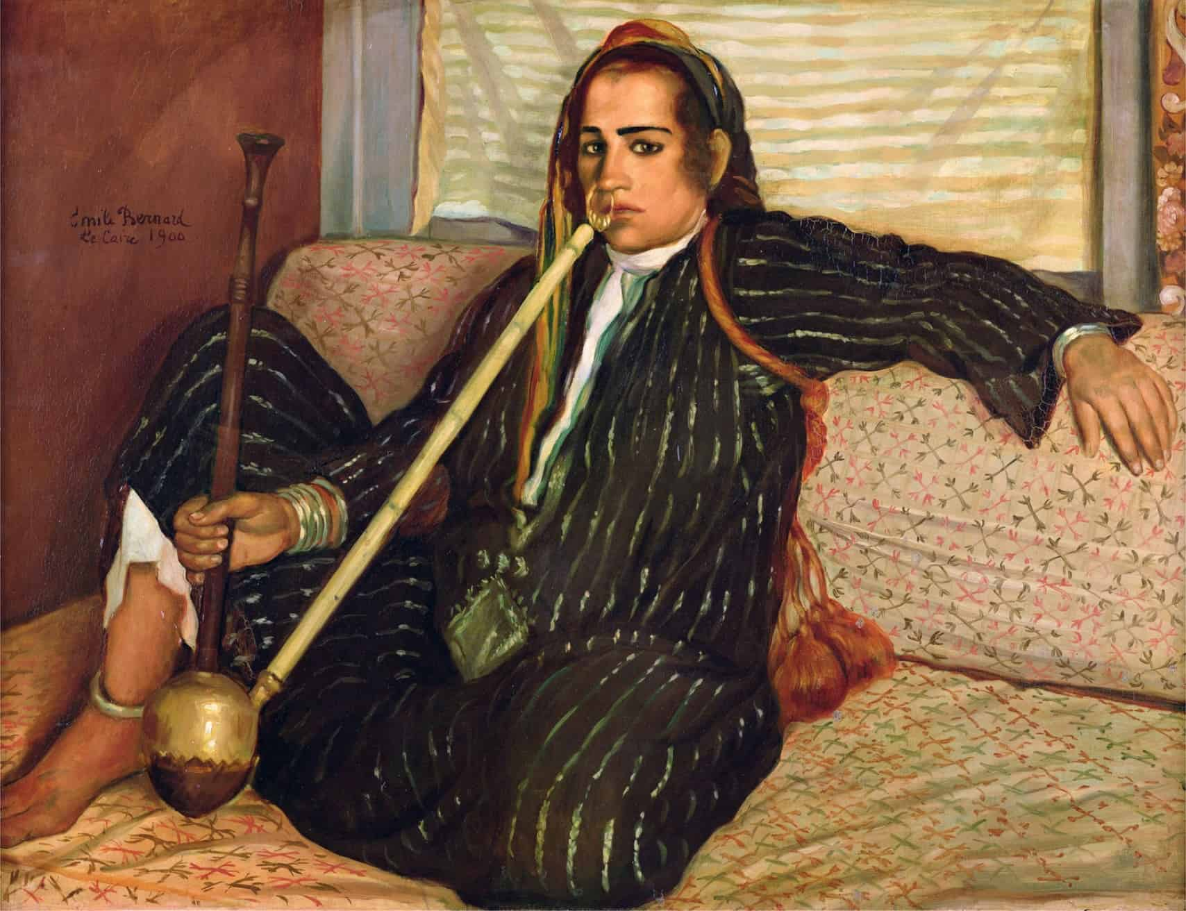 You are currently viewing Émile Bernard, La fumeuse de Haschisch