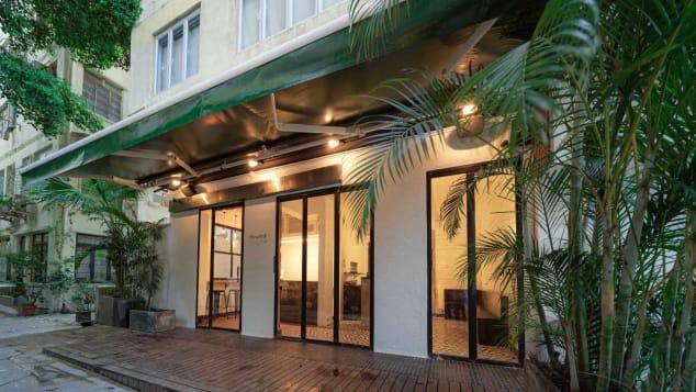 Found, che si trova a Sheung Wan, è il primo CBD cafè di Hong Kong.