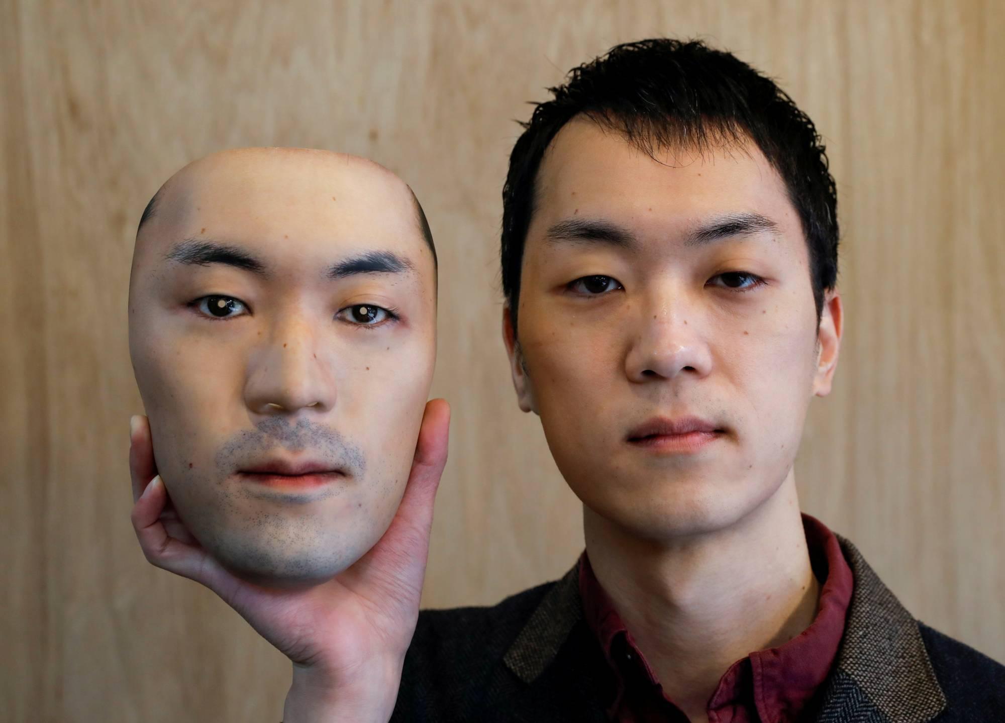 Shuhei Okawara e le sue (terrificanti) maschere iperrealistiche