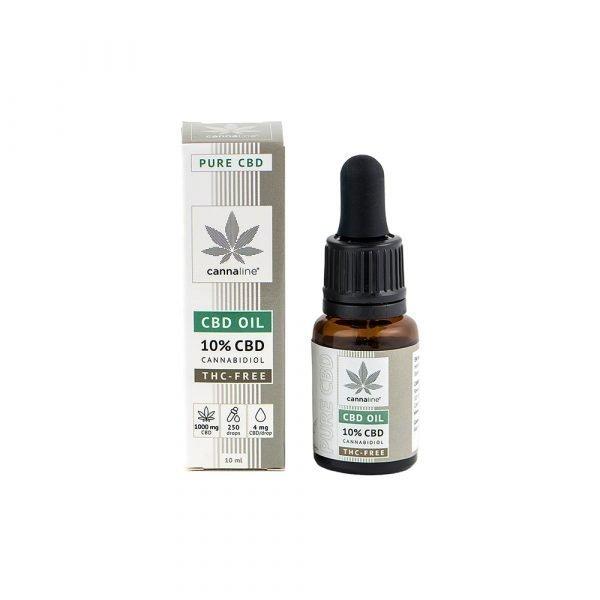Olio CBD – THC Free – 10%  (1000 mg) Aceite de CBD