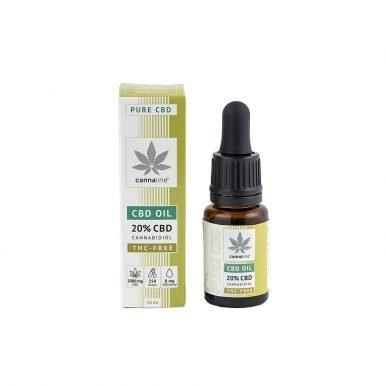 Olio CBD – THC Free – 20%  (2000 mg) Olio CBD