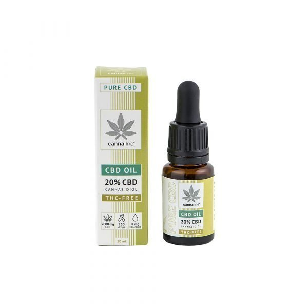 Olio CBD – THC Free – 20%  (2000 mg) CBD Oil
