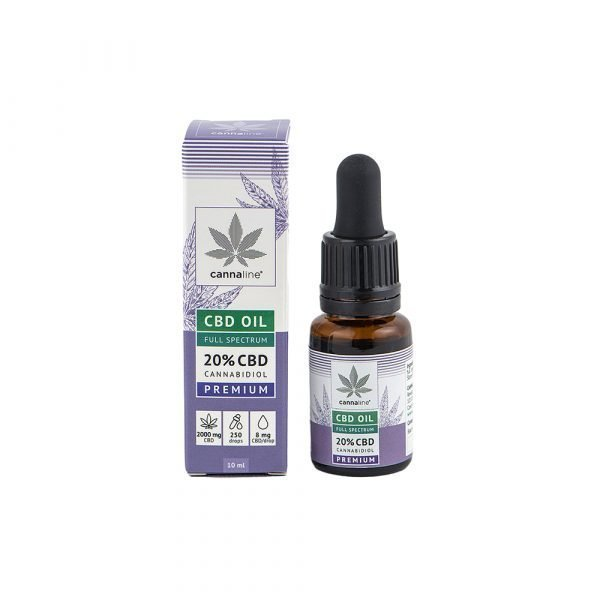 Olio CBD – Full Spectrum – 20% (2000 mg) Huiles CBD