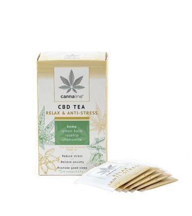 CBD Tea – Relax & Antistress Bevande